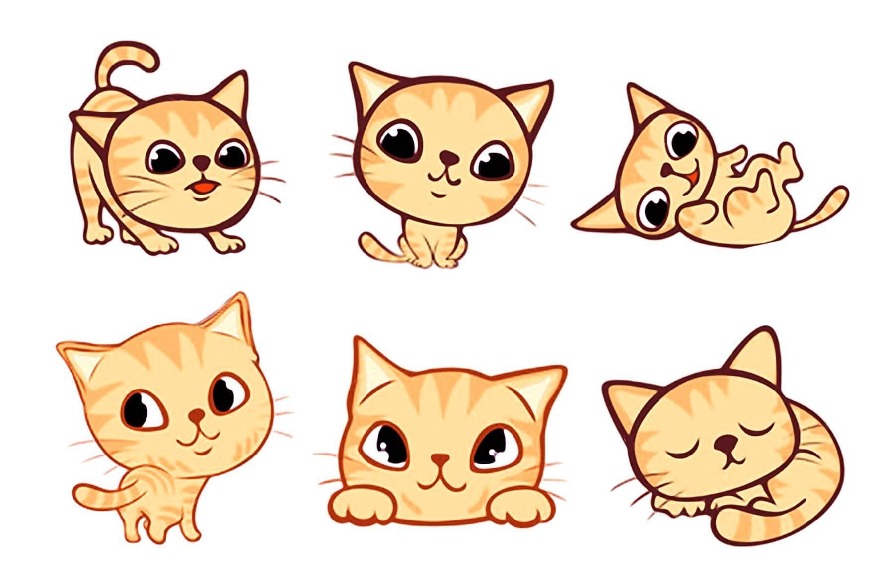 все картинки нарисованых котят большую популярность