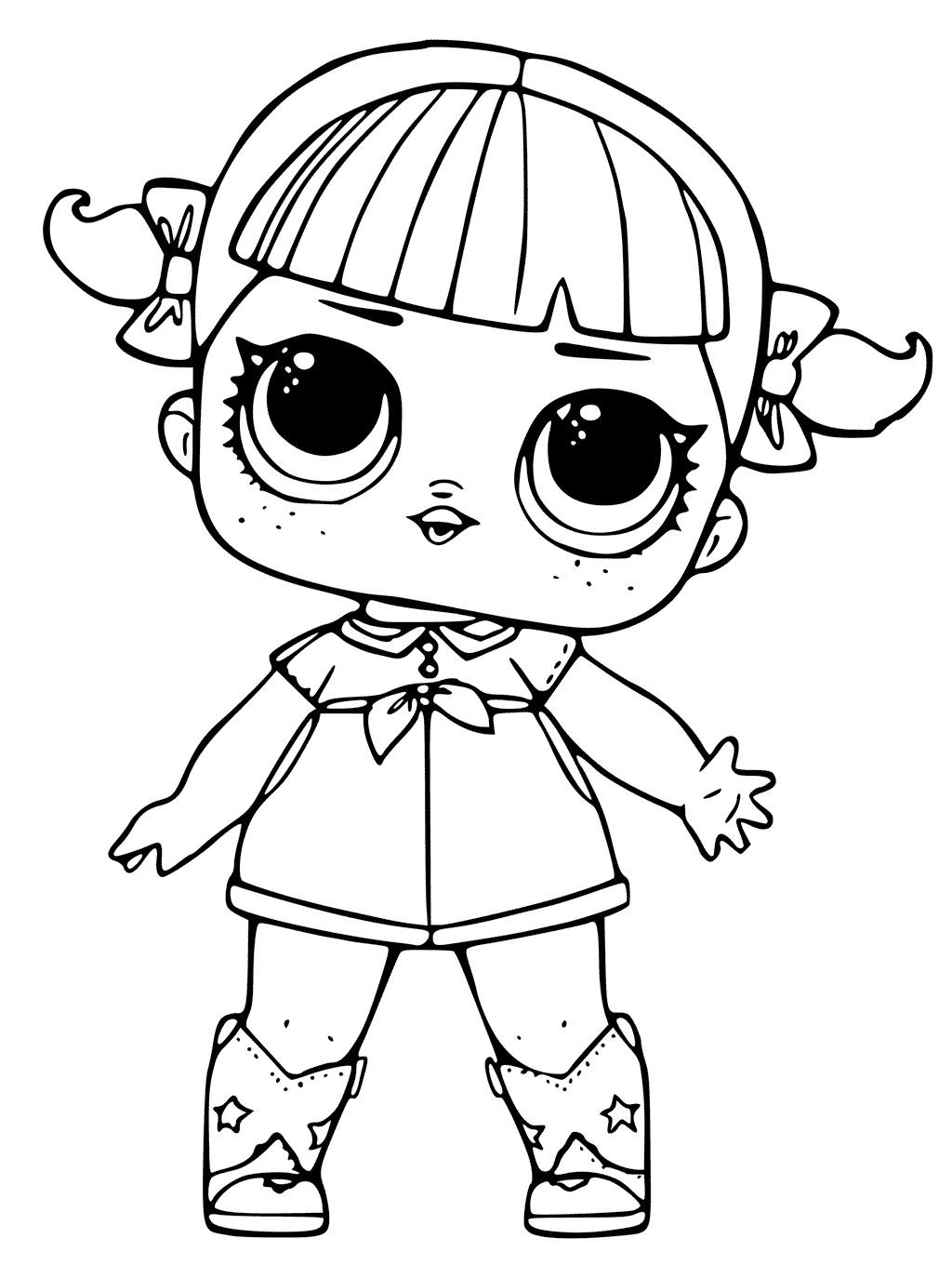Coloring Pages of LOL Surprise