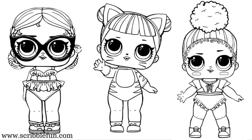Coloring Pages Of Lol Surprise Dolls 80 Pieces Black And White Rhthypix: Large Lol Coloring Pages At Baymontmadison.com