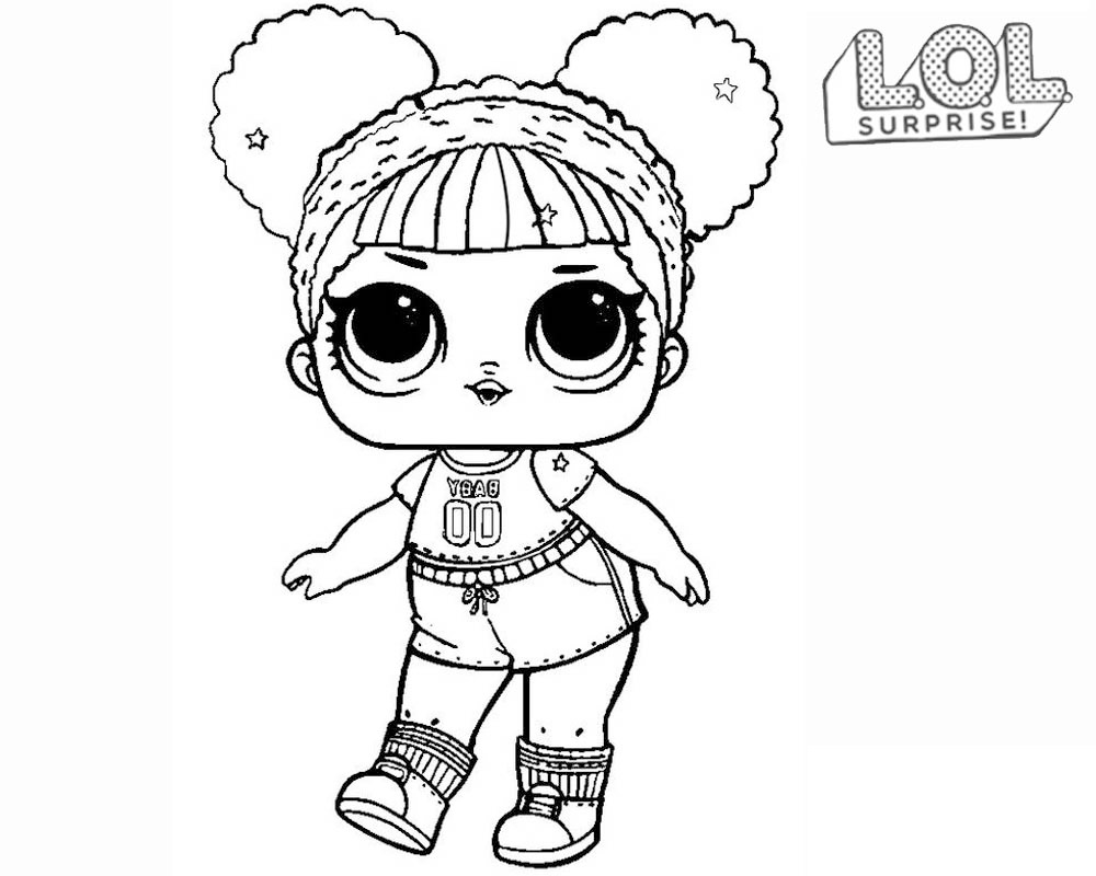 Coloriage En Ligne Lol.Coloriages Poupees Lol Surprise 80 Photos Noir Et Blanc