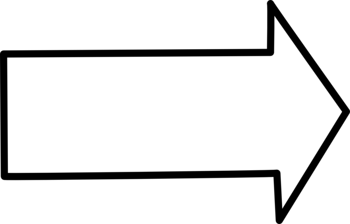 White Arrows in PNG on a Transparent Background. 100 Free Cliparts