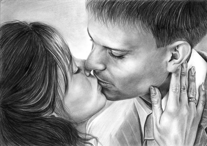 I migliori disegni d'amore. 150 immagini romantiche