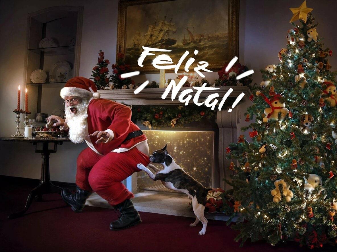 Imagens de Feliz Natal. 60 cartões de Natal