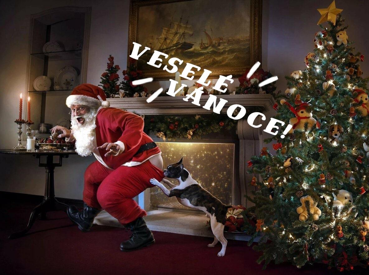 Veselé Vánoce obrázky. 60 přání k Vánocům