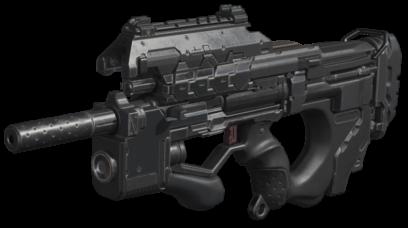 Armas de Call of Duty en PNG sobre fondo transparente