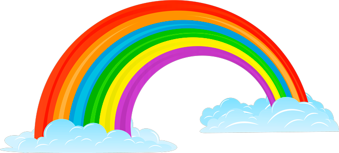 Images arc-en-ciel en PNG sur fond transparent. 100 cliparts gratuits