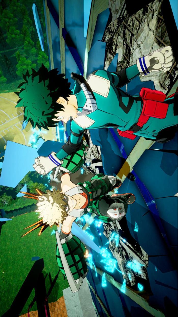 My Hero Academia Handy Hintergrundbilder in hoher Qualität
