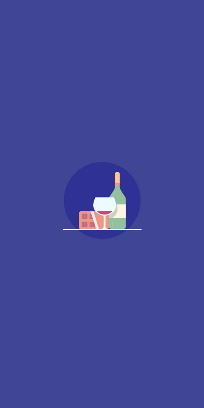 Mobilní tapeta v minimalistickém stylu
