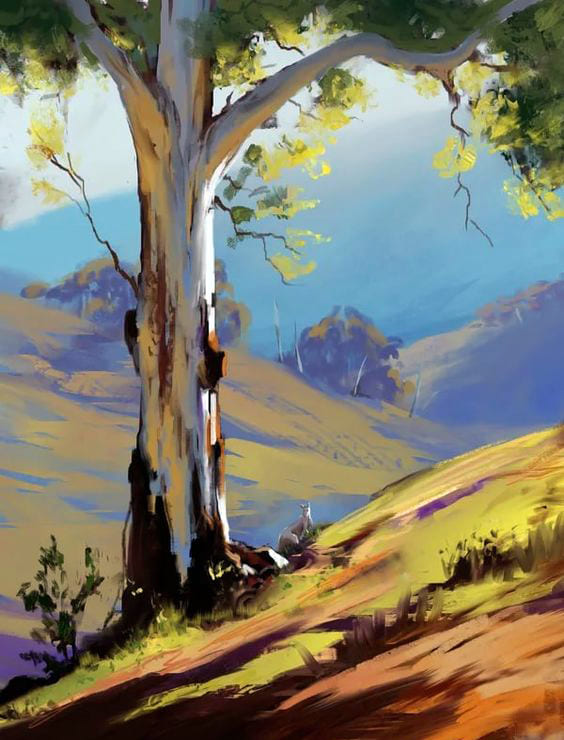 Drawings of Nature For Sketching - 100 Beautiful Pictures of Landscapes