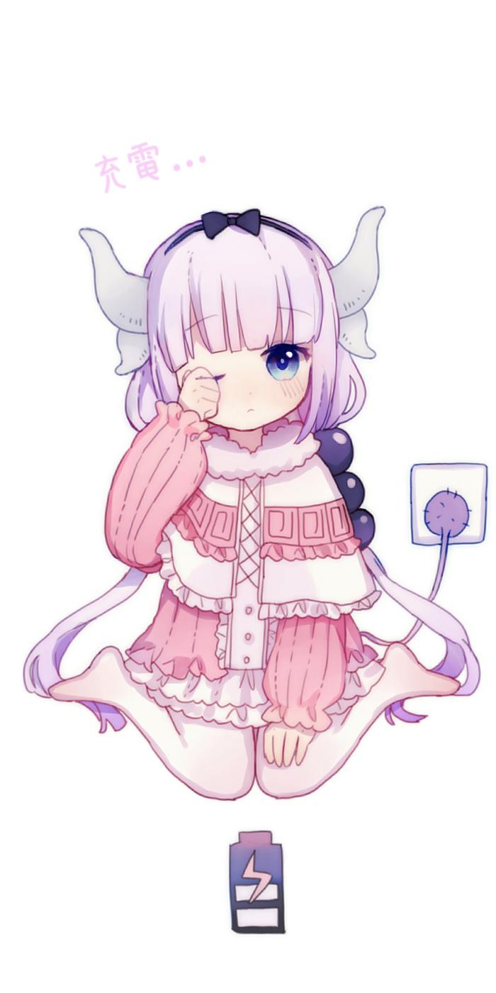 Miss Kobayashi's Dragon Maid tapeta mobilna