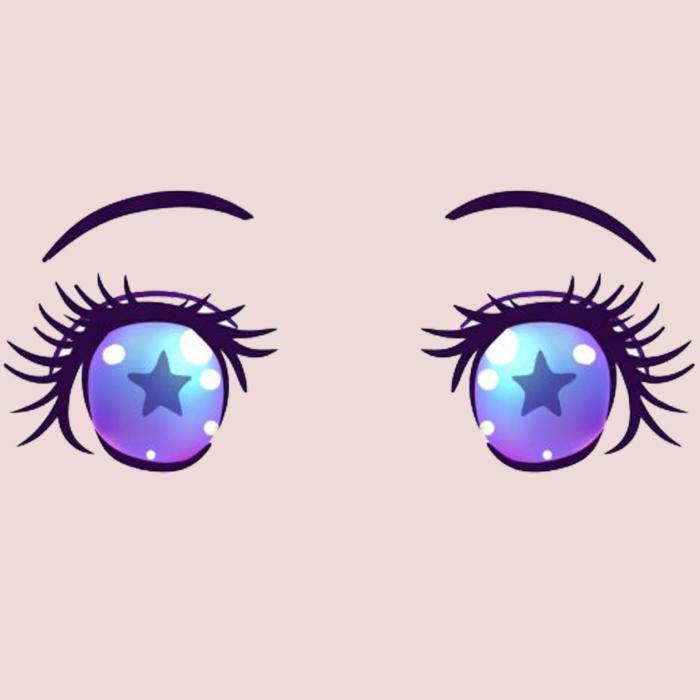 描くためのアニメの目、無料で100枚の画像