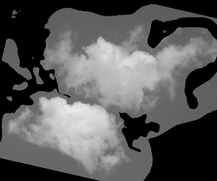 Mraky v PNG na průhledném pozadí - 100 obrázků zdarma