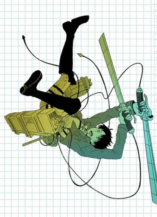 Angriff auf den Titan skizziert Bilder