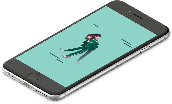 Mobilní pozadí Hra na oliheň
