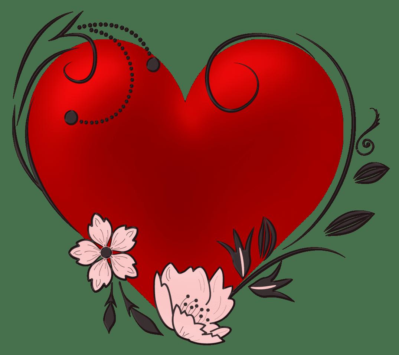 Krásné obrazy srdce. 240 obrázků s vysokým rozlišením zdarma