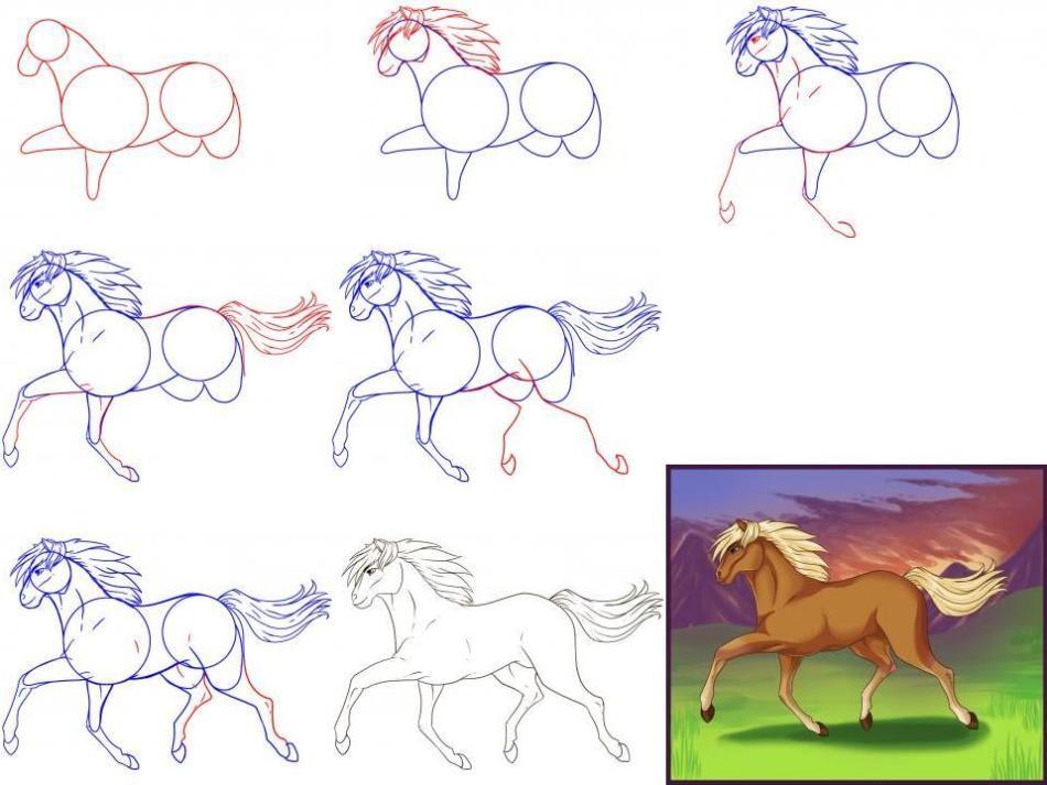 Belle Immagini Di Unicorni Per Disegnare Disegni Semplici E